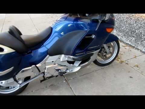 bmw k1200lt motorcycle with uni go single wheel trailer doovi. Black Bedroom Furniture Sets. Home Design Ideas