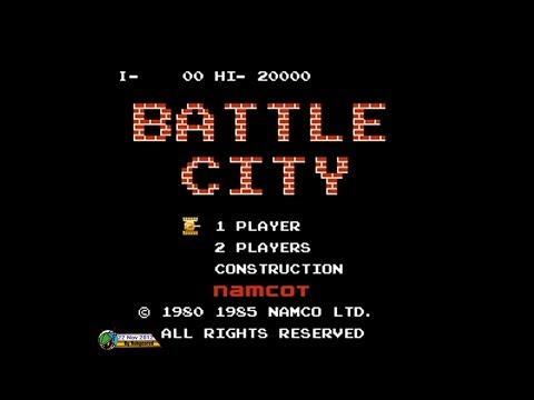 Battle City (1985, NES) - Full Gameplay [1080p]