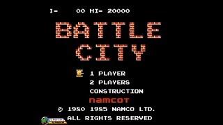 Battle City (1985, NES) - 1 of 7: Full Gameplay (Take 1)[1080p]