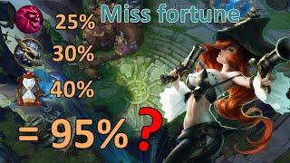 Miss fortune Ult ยังไงให้แรงขึ้น 300% | สตีมย้อนหลัง | LOL League of Legends