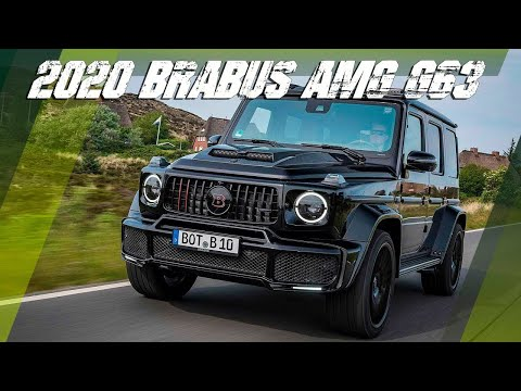 New BRABUS VEHICLES 2020 Review   Firstlook AMG G WEAGON 2020