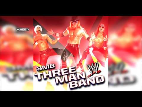 WWE: Three Man Band 3MB Theme Song + AE Arena Effects