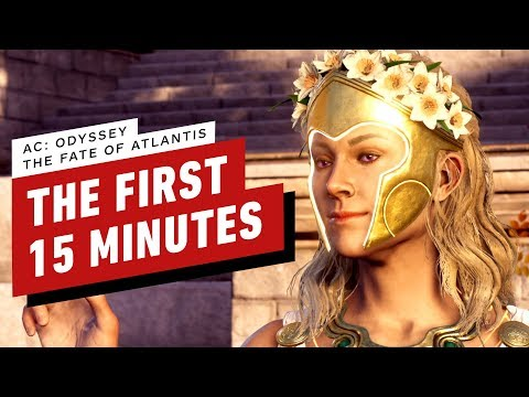 Assassin's Creed Odyssey: Fate of Atlantis Gameplay