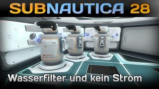 Subnautica [28] [Wasserfilter und kein Strom] [Let's Play Gameplay Deutsch German HD] thumbnail