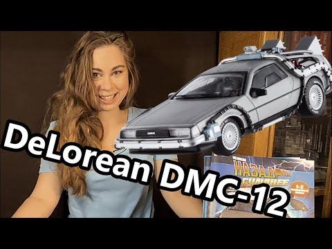 DeLorean DMC-12 Назад в будущее. Сборка модели.