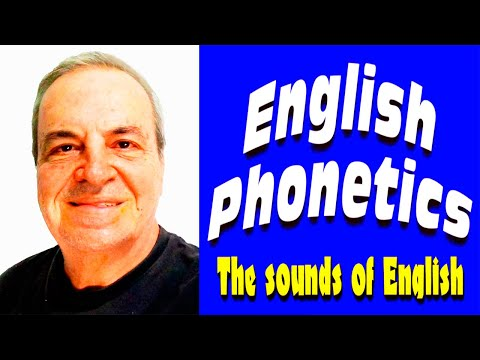 28 English phonetics - The sounds of Spoken English - English sounds pronunciation