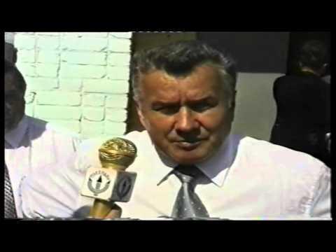 Интервью с Губернатором Нижегородской области Скляровым И.П. р-п Воскресенское 2002 год