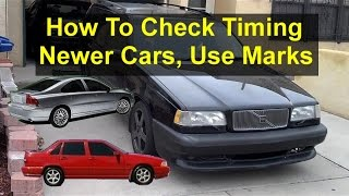 How to check your timing on Volvo white block engines. Also applies to other vehicles.- VOTD