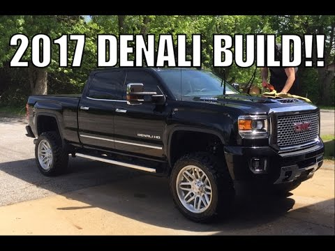 Lifted 2017 L5P Duramax Denali - YouTube