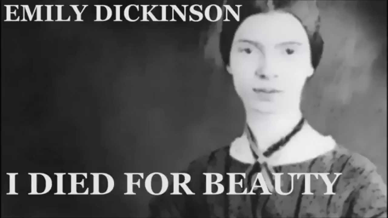 Emily dickinson i died for beauty, vivica a fox having oral sex