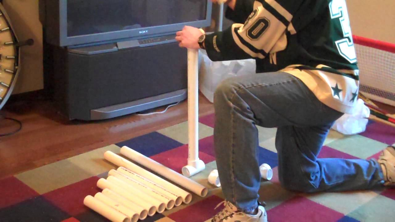how to build a pvc ice skating aid youtube