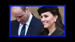 PHOTOS Kate Middleton affiche son baby bump à la messe de Pâques
