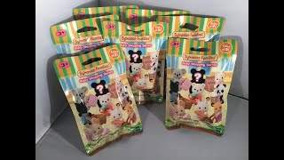 Calico Critters Baby Shopping Series Blind Bags Lot Of 2 Sylvanian Families
