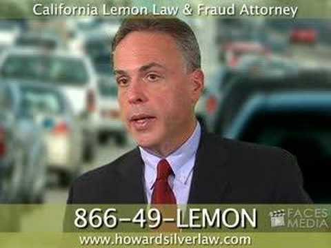 California Lemon Law & Fraud Lawyer / Attorney--manufacturer