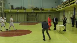 Церемонія нагородження Регіонального чемпіонату з міні-футболу в м. Гребінка