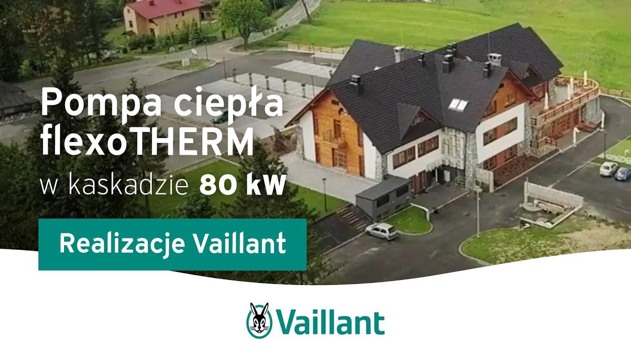 Pompy ciepła flexoTHERM w kaskadzie 80 kW - Dwór Kukuczka | Vaillant Polska