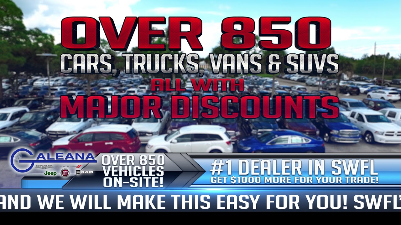 $750 Disaster Relief Rebate On New Cars At Galeana Chrysler Dodge Jeep Ram  Fiat