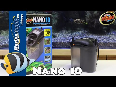 Zoo Med Nano 10 External Canister Filter - Product Overview