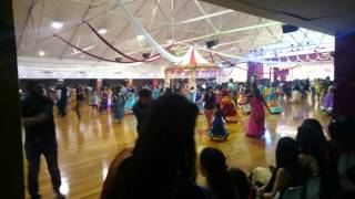 Auckland Gandhi hall garba day 3 (2015)