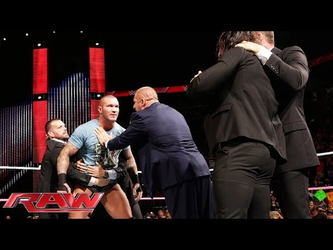 Randy Orton defies The Authority: Raw, October 27, 2014