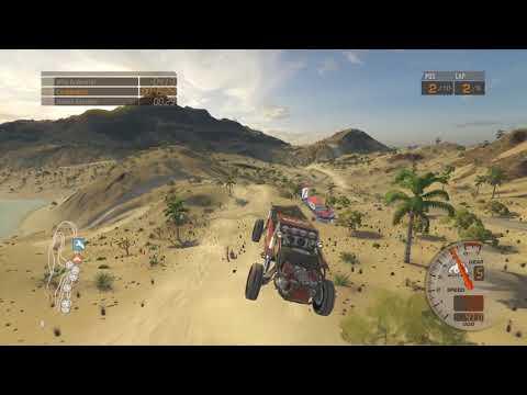 Baja: Edge of Control HD (PS4) - Cocono Island, Criss Cross, Unlimited VW Class -