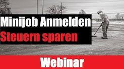 Minijob Anmelden | PUTZFRAU ANMELDEN UND | STEUERN SPAREN