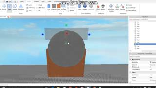 Roblox: How to make a arch! (smooth and no gliching textures)