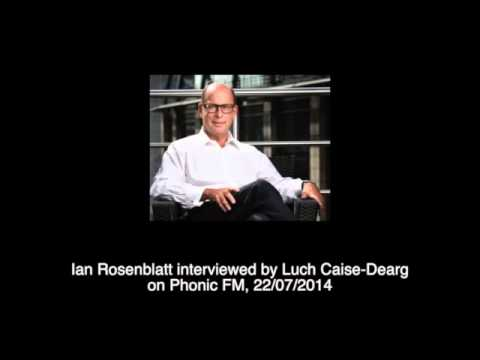 Ian Rosenblatt interviewed on Phonic FM