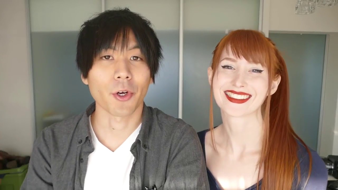 Japanese Russian Couple