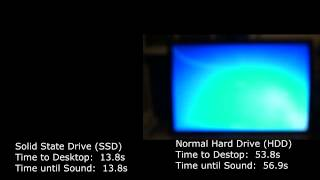 SSD vs. HDD - Solid State Hard Drive vs. Normal Hard Drive