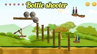 Knockdown Bottle Shooting game - Test your slingshot skills screenshot 5