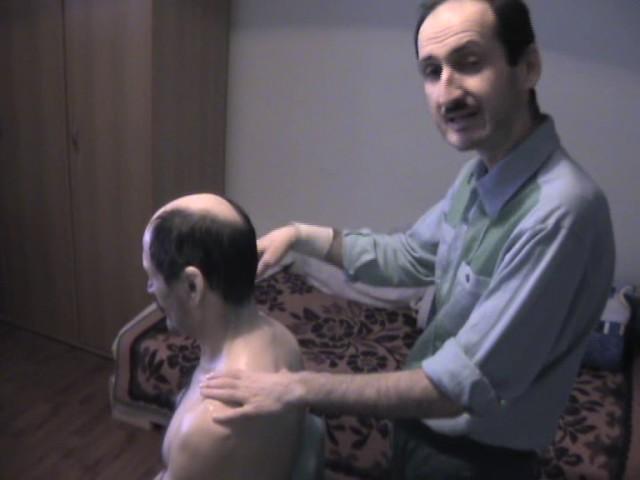 Masajul zonei gulerului cervical pentru vedere Cum să masați gâtul și zona gulerului