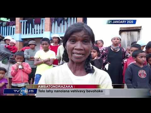 VAOVAO DU 21 JANVIER 2020 BY TV PLUS MADAGASCAR