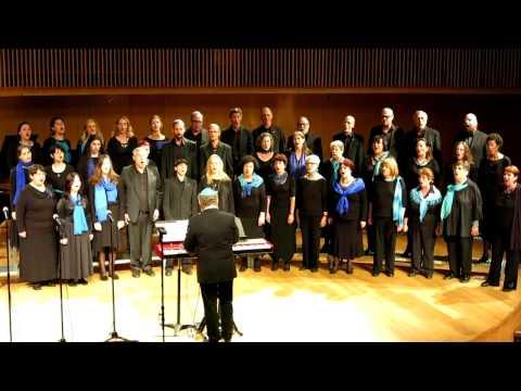 מגמת המוסיקה קמפוס אריסון מארחים - the Jewish choir of Vienna - TLV 2016