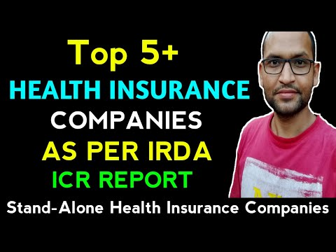 Top Five Health Insurance Companies In India| What Is Incurred Claim Ratio