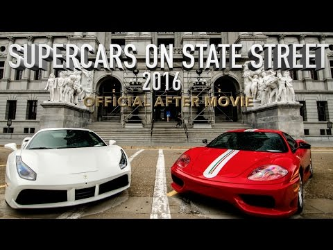 Supercars on State Street 2016 | The Official After Movie