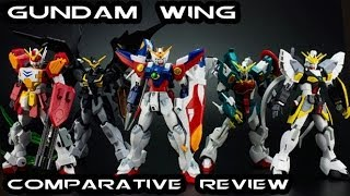 Gundam Wing Robot Damashii Comparative Figure Review