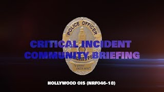 Critical Incident Video Release  NRF046-18