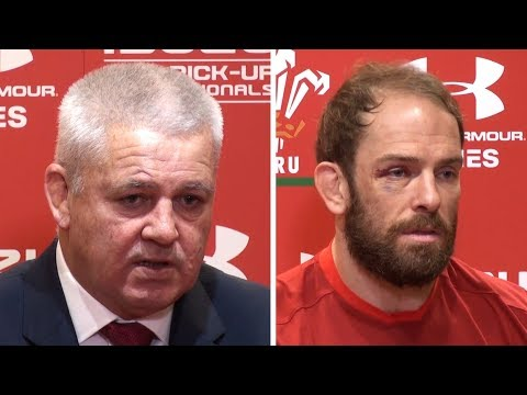 Wales v Australia - Warren Gatland & Alun Wyn Jones Full Post Match Press Conference