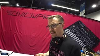 NAMM 2020 - Sonicware Liven 8 Bit Synth Demo