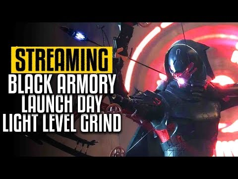 11ced435f20 Destiny 2 🔴 Black Armory Launch Day