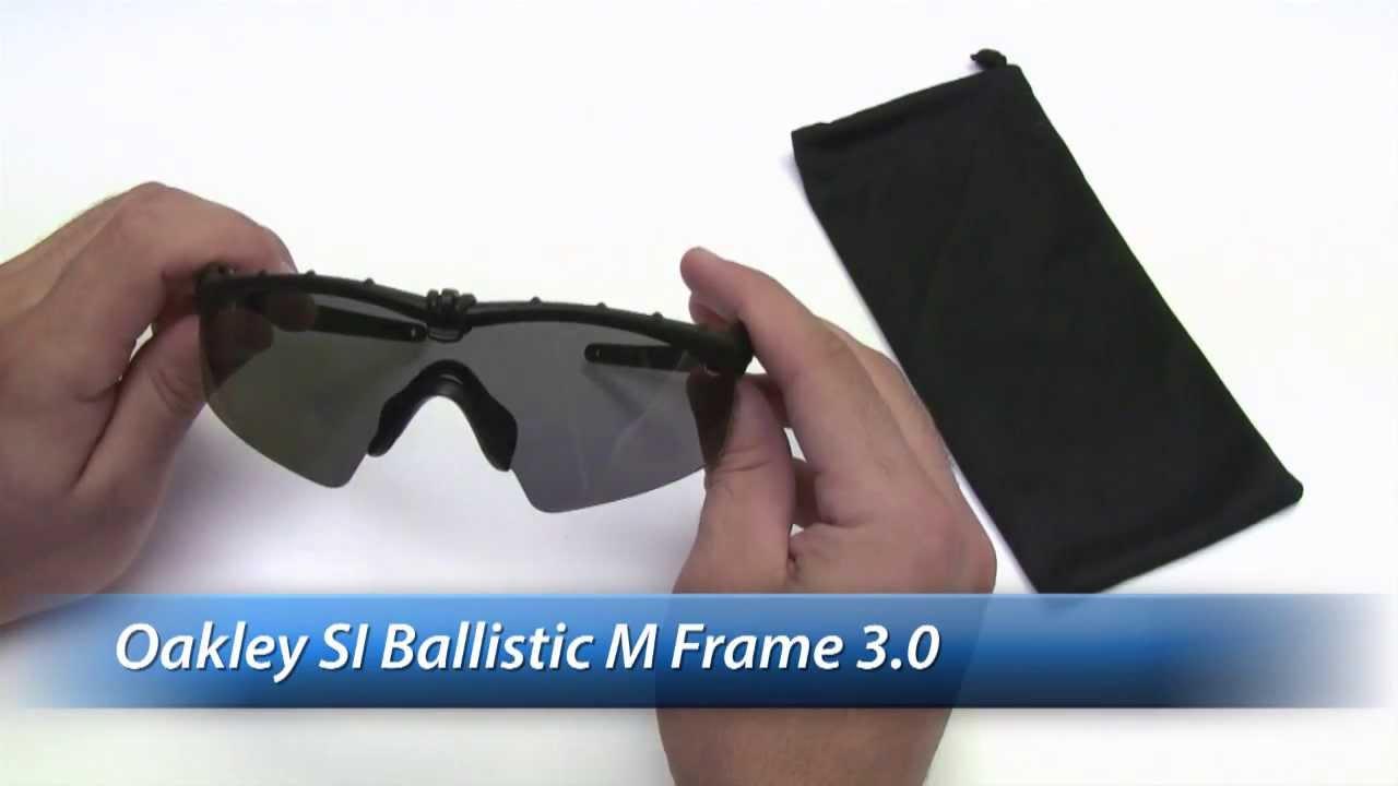 6d33952e6559e Oakley Si M Frame 3 0 Ballistic Safety Gl Review You