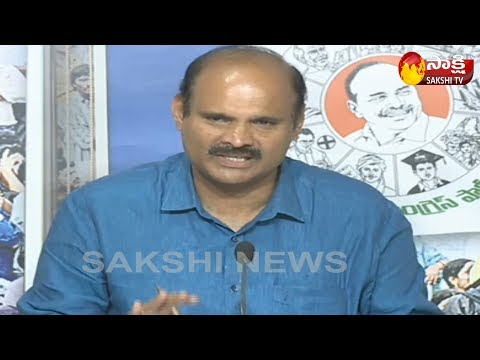 YSRCP Leader Parthasarathy Speaks To Media On Agri Gold Scam Issues