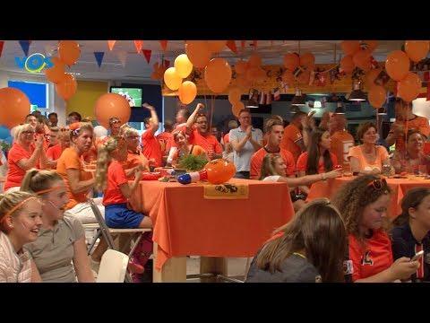 VOS NIEUWS - Halve finale Oranje Leeuwinnen kijken bij SV Valkenswaard