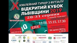 """LIVE I """"LVIV OPEN CUP-2019"""" I МФК «Кардинал-Рівне» (Рівне) - ФК«Food Centre-СумДУ» (Суми)"""