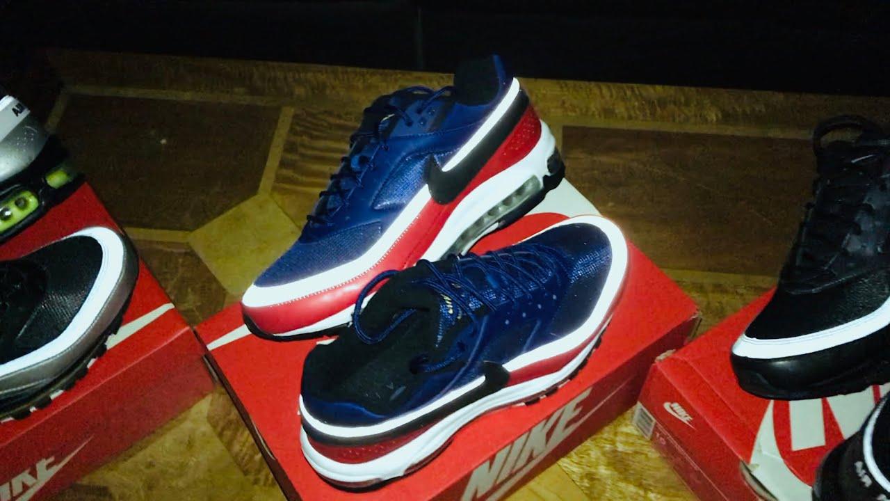 Nike Air Max 97 Bw In The Dark Reflective Deep Royal Blue Black