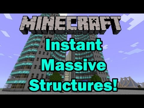 minecraft-instant-massive-structures-mod-review-(airplanes,-boats,-skyscrapers,-roller-coasters!)