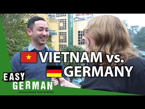 Vietnam vs. Germany | Easy German 229