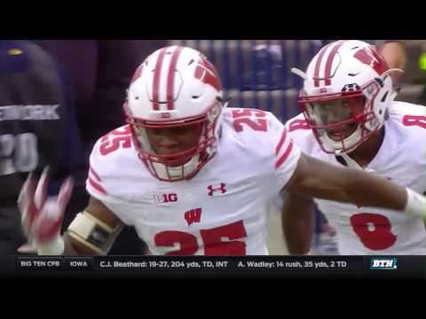 Wisconsin at Michigan - Football Highlights