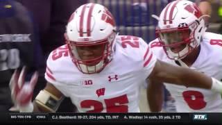Wisconsin at Michigan - Football Highlights